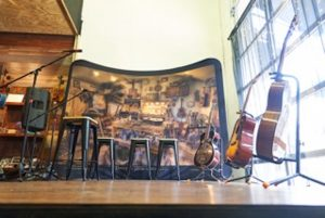 Music Makers Stage at Delgado Guitars
