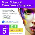 Green Science & Clean Beauty Symposium