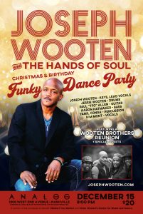 Joseph Wooten and The Hands of Soul Christmas/Birt...