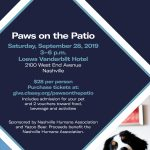 Paws on the Patio Benefiting Nashville Humane Society