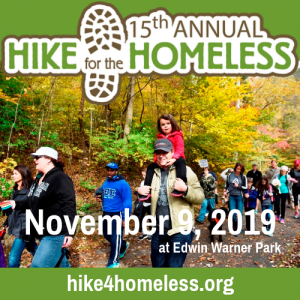 15th Annual Hike for the Homeless