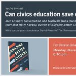 Building Better Citizens Book Event and Conversation with Holly Korbey