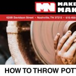 Pottery Class - How To Throw Pottery On The Wheel