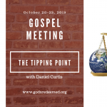 Special Bible Series: The Tipping Point