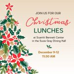 Annual Christmas Lunches & Concerts at Scarritt Bennett
