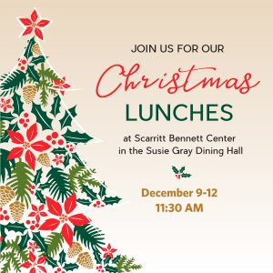 Annual Christmas Lunches & Concerts at Scarrit...