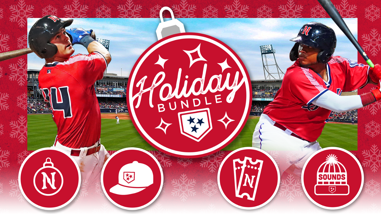 Nashville Sounds Holiday Bundle