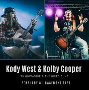 Kody West & Kolby Cooper w/ Giovannie & Th...