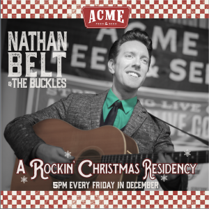 Nathan Belt & the Buckles: A Rockin' Christmas Residency