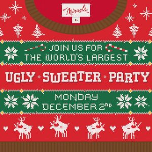 World's Largest Ugly Sweater Party