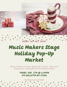 Holiday Pop-up Market