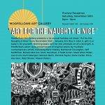 """1st Annual Holiday Art Show: """"Art for the Naughty & Nice"""""""