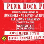 Punk Rock Pizza Party w/ Rushmore, No Loves, AntiF...