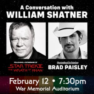 A Conversation with William Shatner Moderated by B...