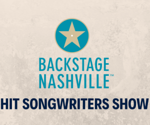 Backstage Nashville VIP Daytime Hit Songwriters Sh...