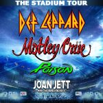 (RESCHEDULED) Mötley Crüe, Def Leppard, Poison and Joan Jett & The Blackhearts