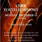 Curb Youth Symphony Concert