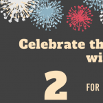 Kick off the New Year with 2 Tickets for $20