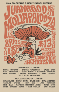 MOLLAPALOOZA presented by Molly Parden and Juan So...