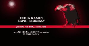 India Ramey with Special Guest The Medders Brothers and Andrew Leahey