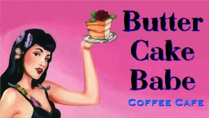 Butter Cake Babe Coffee Cafe