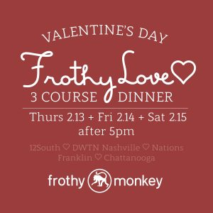 Valentine's Day 3-Course Dinner - 12 South