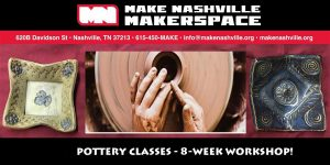 (CANCELLED) Pottery Classes - 8 Week Session
