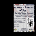 Across a Barrier of Fear - The Life of Eleanor Roosevelt