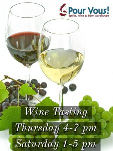 SOME DATES CANCELLED Weekly Wine Tasting