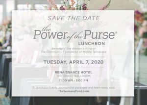 The Power of the Purse® Luncheon