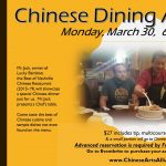 CANCELLED #44 Chinese Dining Adventure