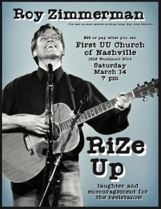 RiZe Up - Roy Zimmerman Concert