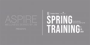 CANCELLED Aspire by JW: Spring Training with Outdoor Voices X BOOTHCAMP Gym