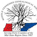 (CANCELLED) Middle TN Genealogical Society March 2020 Meeting