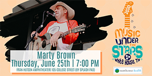 Music Under the Stars | Marty Brown