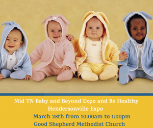 POSTPONED Middle TN Babies Expo
