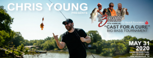 CANCELLED - Chris Young Presents Th3 Legends' 4th Cast for a Cure Big Bass Fishing Tournament