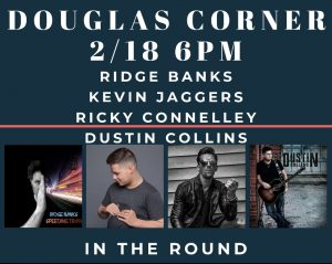 Ricky Connelley hosts Ridge Banks, Kevin Jaggers a...