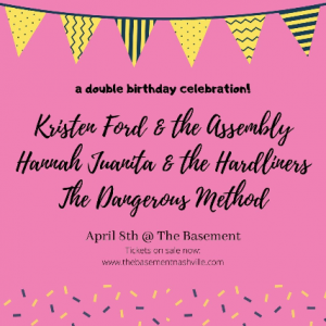 (CANCELLED) Kristen Ford & The Assembly, Hanna...