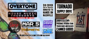 Overtone Tornado Supply Drive House Night