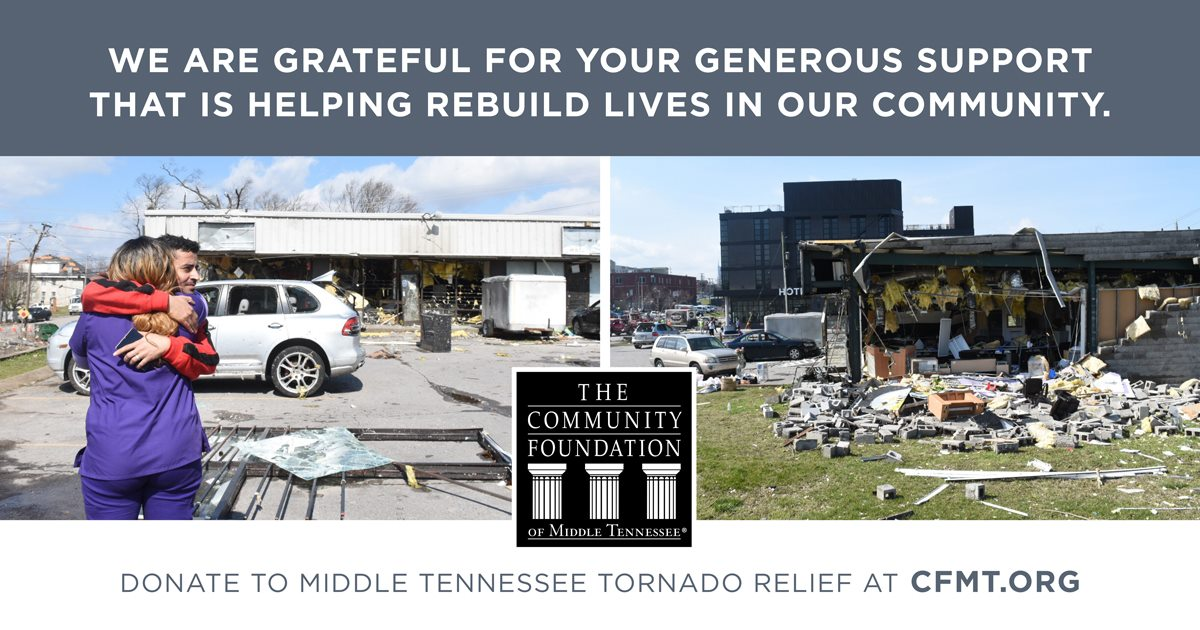 Tornado Relief Middle Tennessee