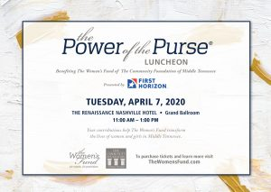 (CANCELLED) The Power of the Purse® Luncheon