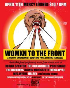 (CANCELLED) Womxn To The Front