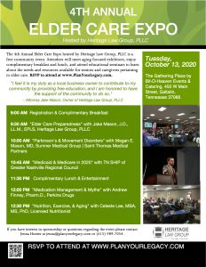 POSTPONED 4th Annual Elder Care Expo