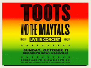 CANCELLED - Toots & The Maytals