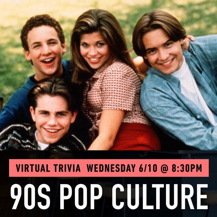 90s Pop Culture Virtual Trivia Benefitting The Tomorrow Fund