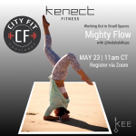 Working Out In Small Spaces: Mighty Flow