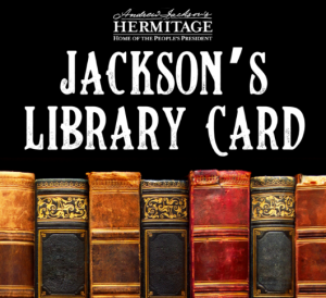 Jackson's Library Card: Virtual Book Club March