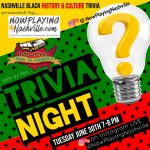 Nashville Black History & Culture Trivia Night