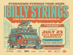 Billy Strings Streaming Strings Tour 2020
